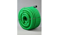 FOURREAU DE PROTECTION DE COULEUR VERT Ø40 C50M