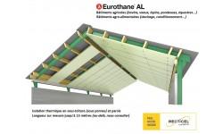 Eurothane® AL, panneau thermique très grand format pour bâtiments agricoles