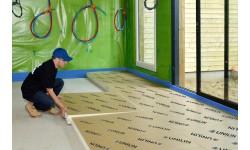 Utherm Floor K : la solution d'isolation des sols d'Unilin Insulation
