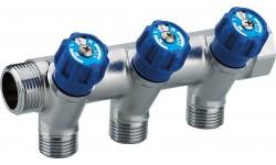 Collecteur à robinetterie intégrée MF20x27